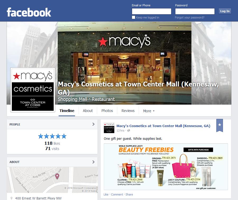 Macys_Town_Center_Mall_-_Facebook